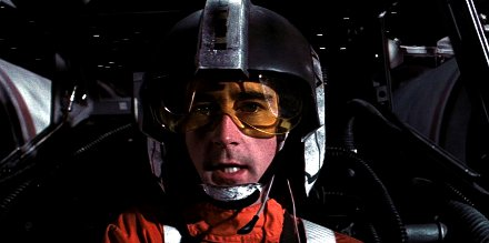 Wedge Antilles from Star Wars. Get it? Eh? Get it? Say no more.