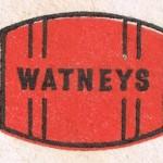 Watneys Red Barrel beer mat.
