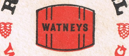 Watneys Red Barrel beer mat.