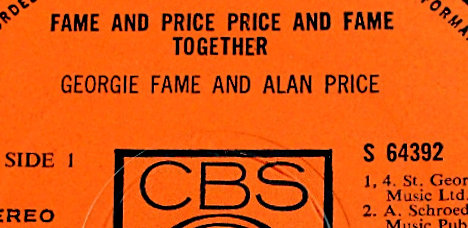 Fame and Price Price and Fame Together Label