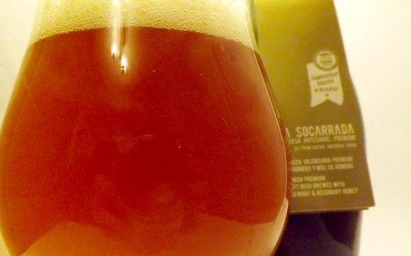 La Soccarada beer.