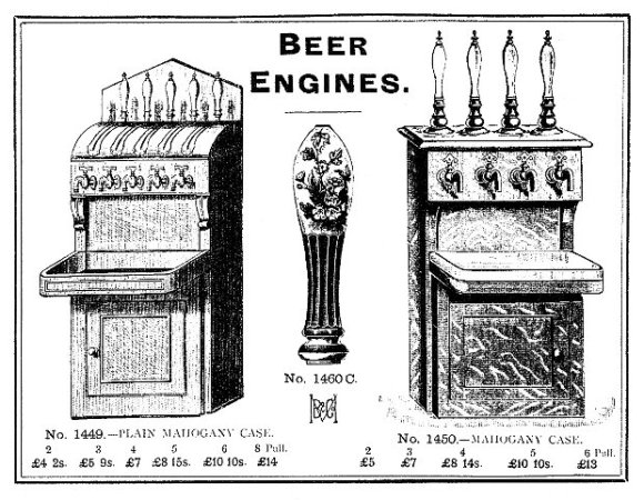 Victorian beer engines.