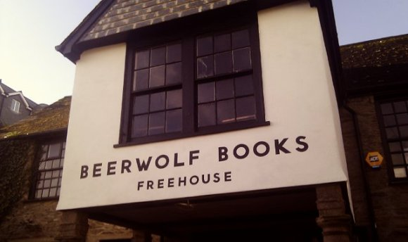 Beer Wolf pub in Falmouth