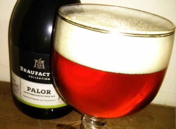 Braufactum Palor pale ale.