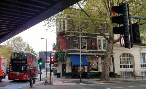 The Duke of York, Borough Road, Southwark, formerly the Goose & Firkin.