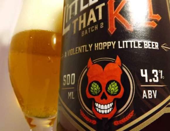 Little Things That Kill beer bottle.