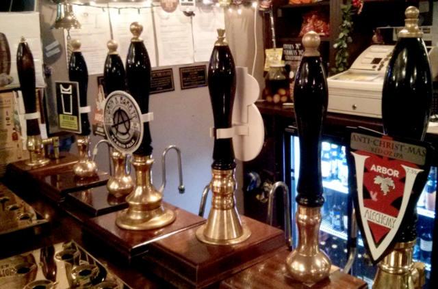 Arbor Ales at the Three Tuns, Bristol.
