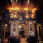 The Black Friar, City of London, dining area.