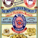 Flyer for the tactically renamed Austro-Bavarian Lager Brewery.