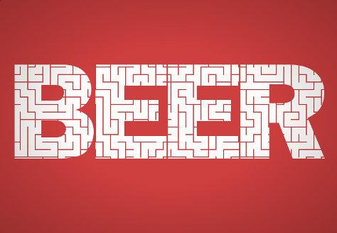 Beer maze