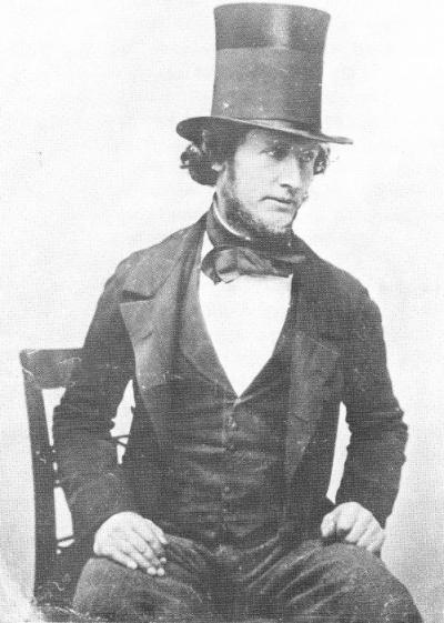Henry Boddington I, aged 33, in 1847, a year before he became a partner in the Manchester brewery he would later take over and to which he would give his name.
