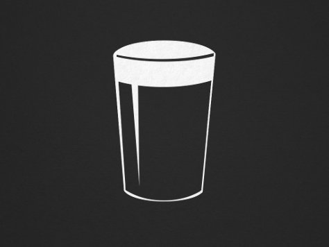Pint of Beer illustration.
