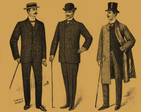 Piccadilly Johnnies, 1904.