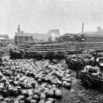 Guinness Brewery: Cooperage Yard.