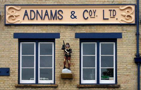 Adapted from Adnams, Southwold, by Martin Pettitt, via Flickr, under a Creative Commons licence.