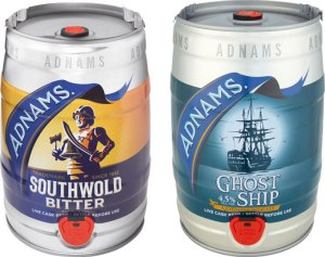 Adnams mini casks.