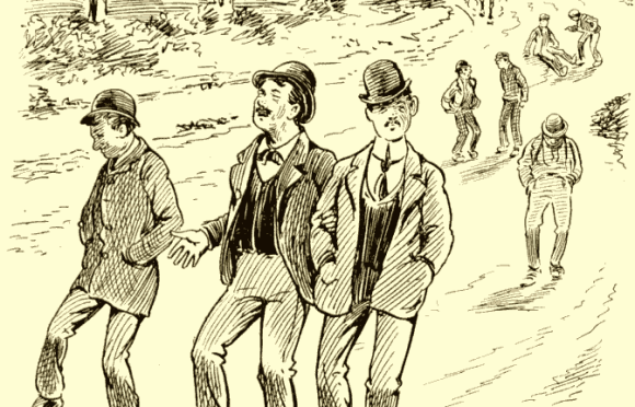 he Rocky Road to Dublin: the bona fides returning from Finglas', 1905.