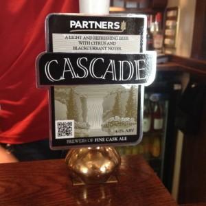 Pump clip for Partners Cascade.