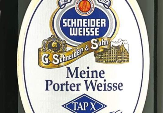 Porter Weisse label.