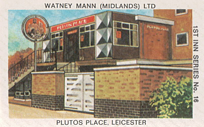 Pluto's Place, Leicester.