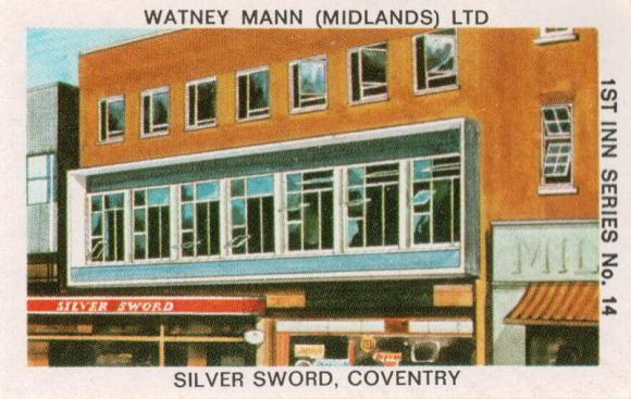The Silver Sword, Coventry, which now looks like this.