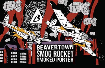 Beavertown Smog Rocket design.