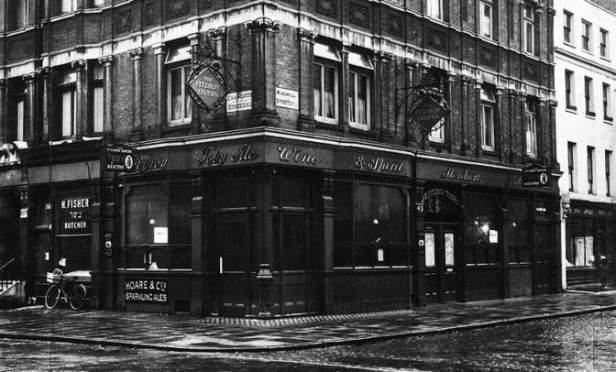 The Fitzroy Tavern.