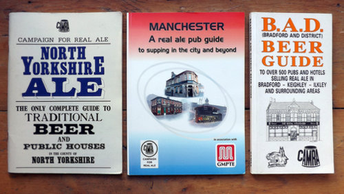 CAMRA local guide books 1990s-2000s.