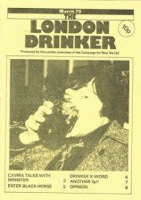 London Drinker issue 1 from 1979.