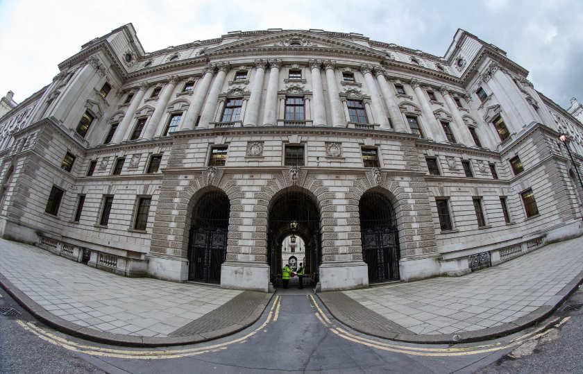 HMRC building, Whitehall, by Steven Vacher.