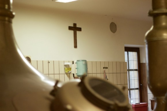 The brewhouse at Orval.