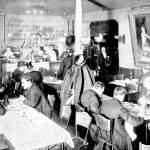 A German beer hall in London, c.1902.