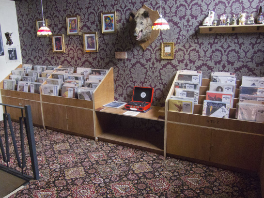 Record Cafe.
