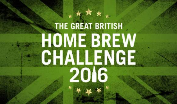 The Great British Home Brew Challenge 2016. (Logo)