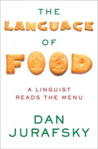 The cover of The Language of Food.