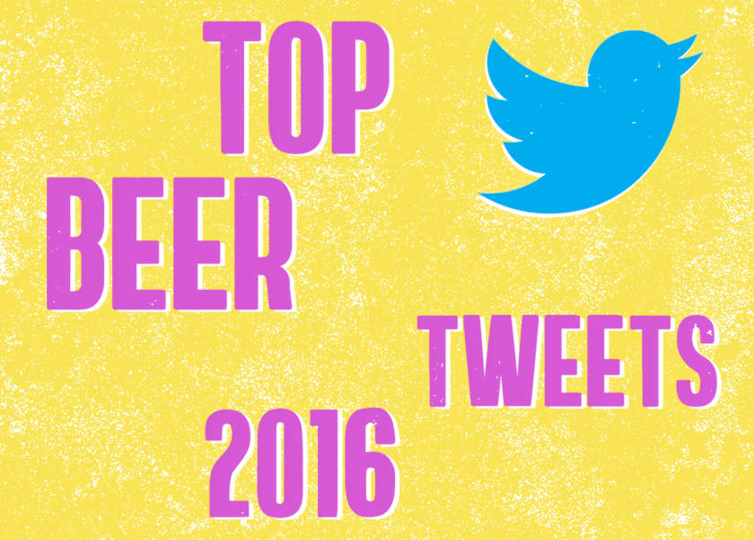 Top Beer Tweets of 2016