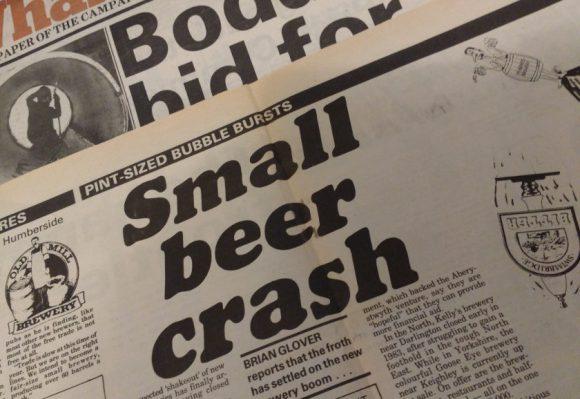 HEADLINE: 'Small Beer Crash'