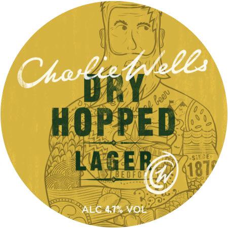 Charlie Wells Dry-Hopped Lager.