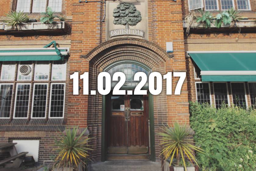 The British Oak pub, Birmingham.