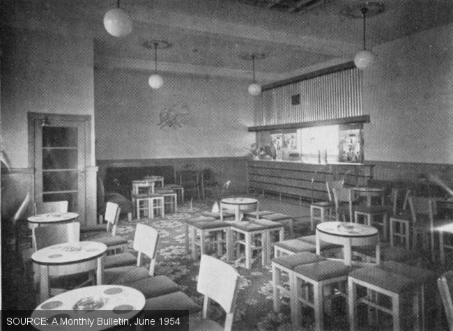 The lounge at the Newall Green.