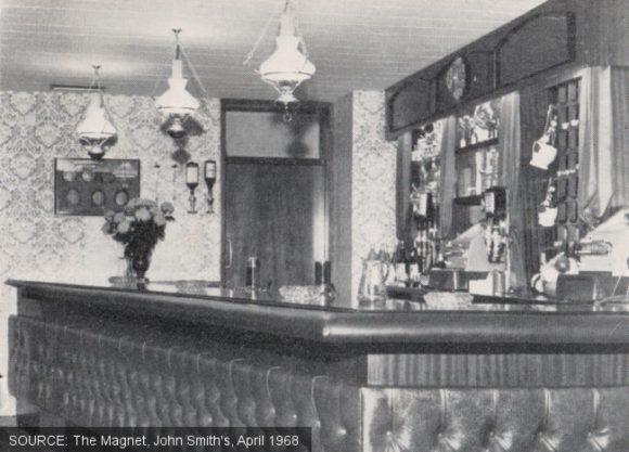 Lounge at the Turf Tavern.