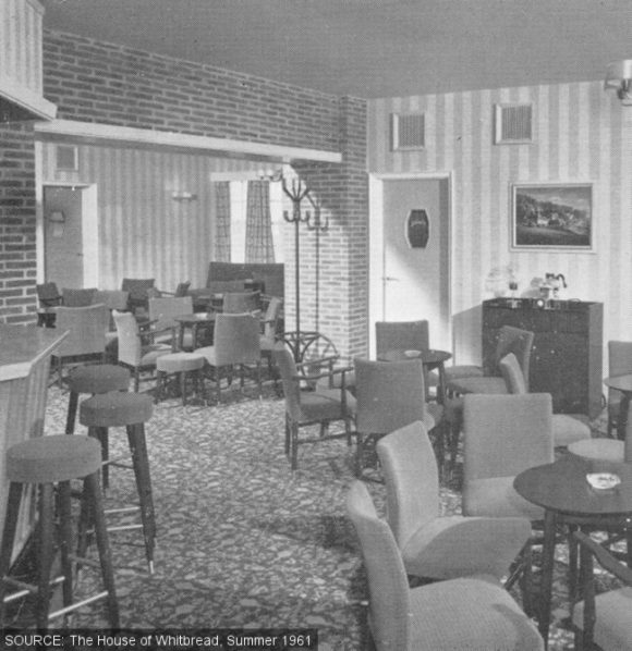 The saloon at the County Oak.