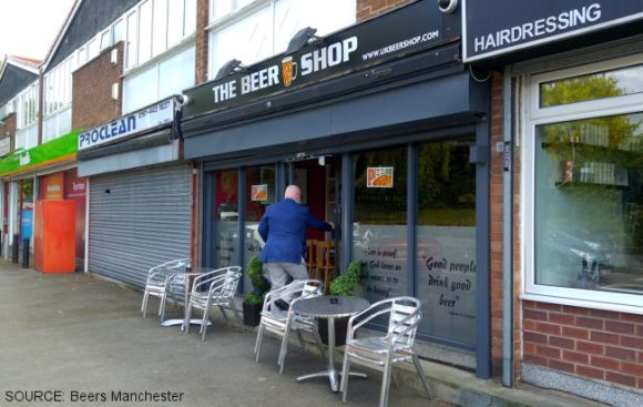 The Beershop (shop frontage)