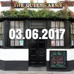 The Queen's Arms pub, Plymouth.