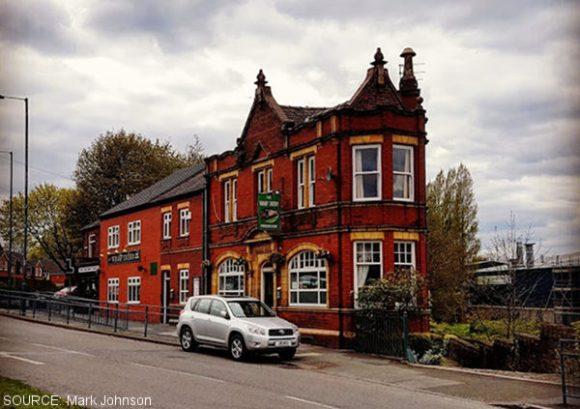 The Wharf Tavern.
