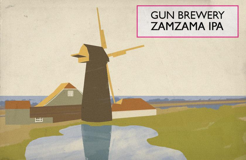 Magical Mystery Pour #32: Gun Brewery Zamzama IPA