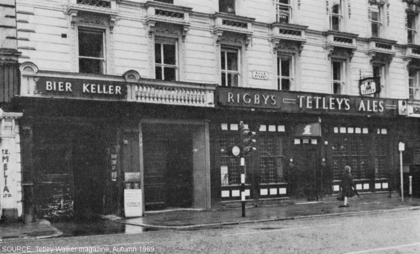 The exterior of Rigby's.