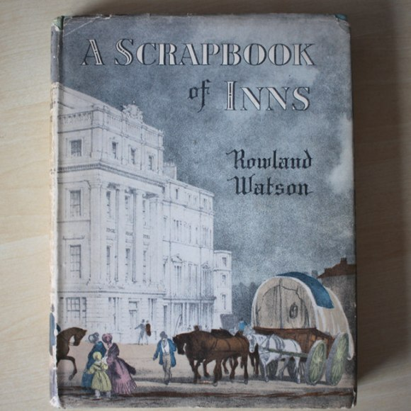 The cover of A Scrapbook of Inns.