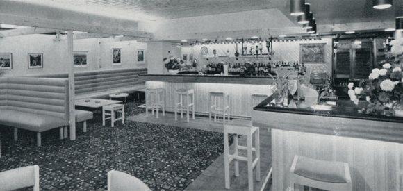 The Danish Bar at the Long Ship pub.