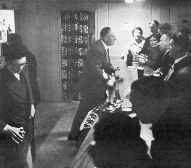 1950s pubgoers.